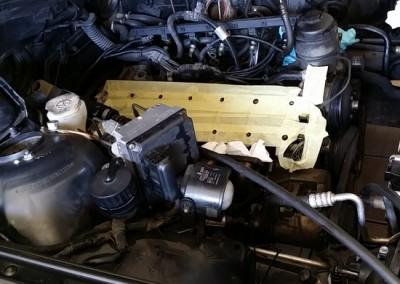 6kylinro BMW M3meta apo kapsimo flatzas sto montarisma dielise tis bides ston kormo-perastikan emfiteymata - 2