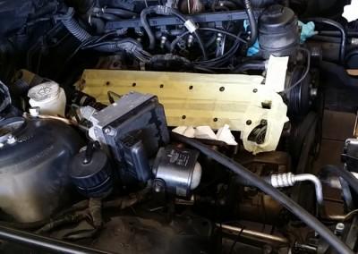 6kylinro BMW M3meta apo kapsimo flatzas sto montarisma dielise tis bides ston kormo-perastikan emfiteymata